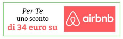 34 € di sconto su Airbnb