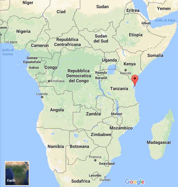 Zanzibar dove si trova