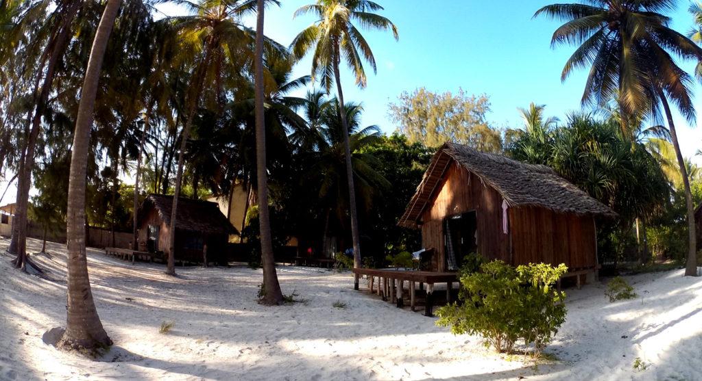 Bungalow del Kinazi Upepo sulla spiaggia a Paje