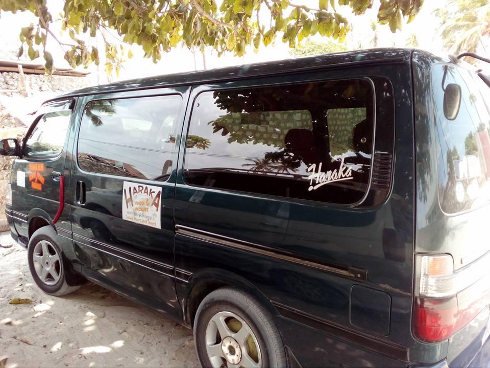 Mini bus per turisti Zanzibar