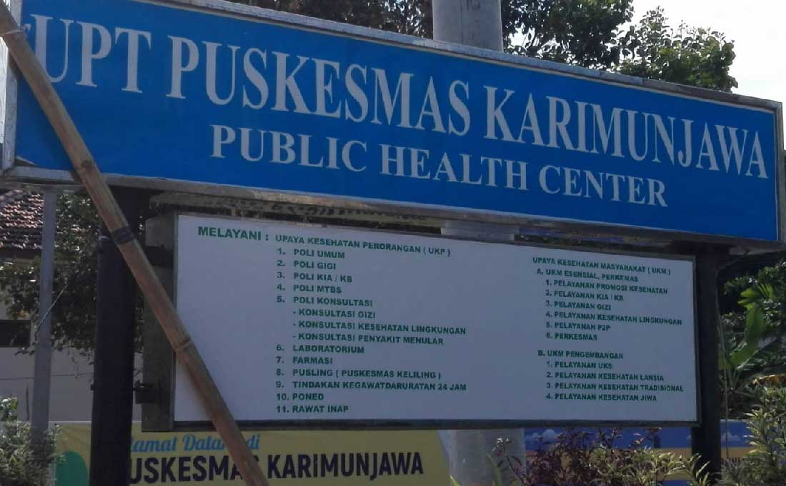 Centro medico Karimunjawa