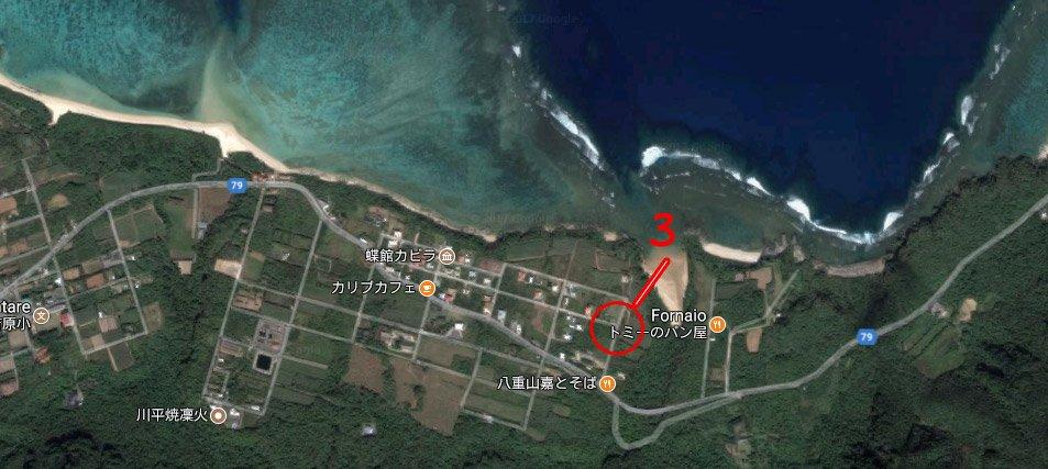 Cristal Beach Ishigaki percorso