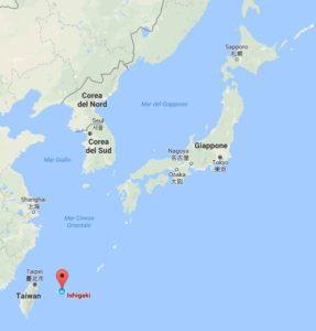 Ishigaki, a Sud della prefettura di Okinawa