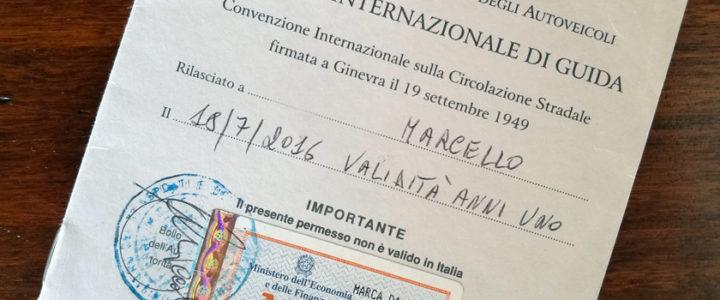 Patente internazionale di guida: documenti, costi e tempi di rilascio