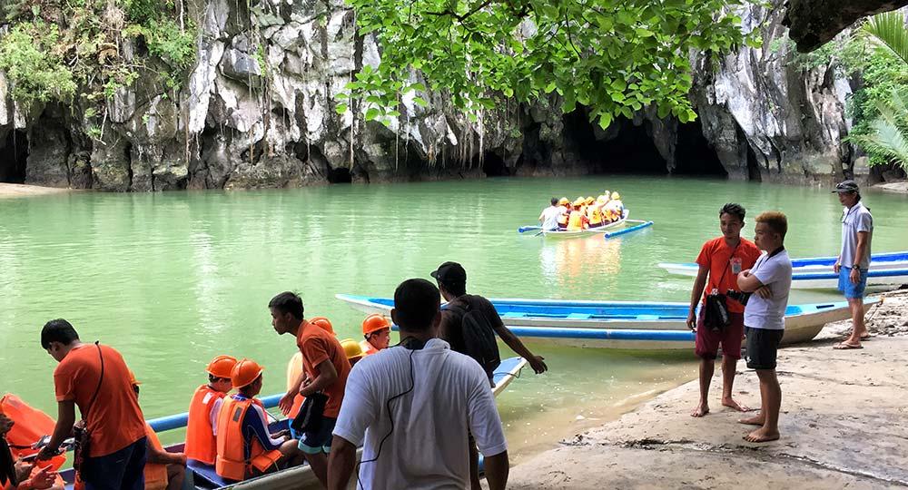 Ingresso del Parco Nazionale del fiume sotterraneo di Puerto Princesa