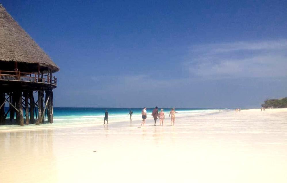 Cocoa Guest House: spiaggia di Nungwi