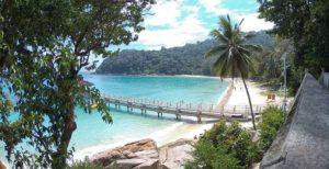 Perhentian Besar, la spiaggia del PIR