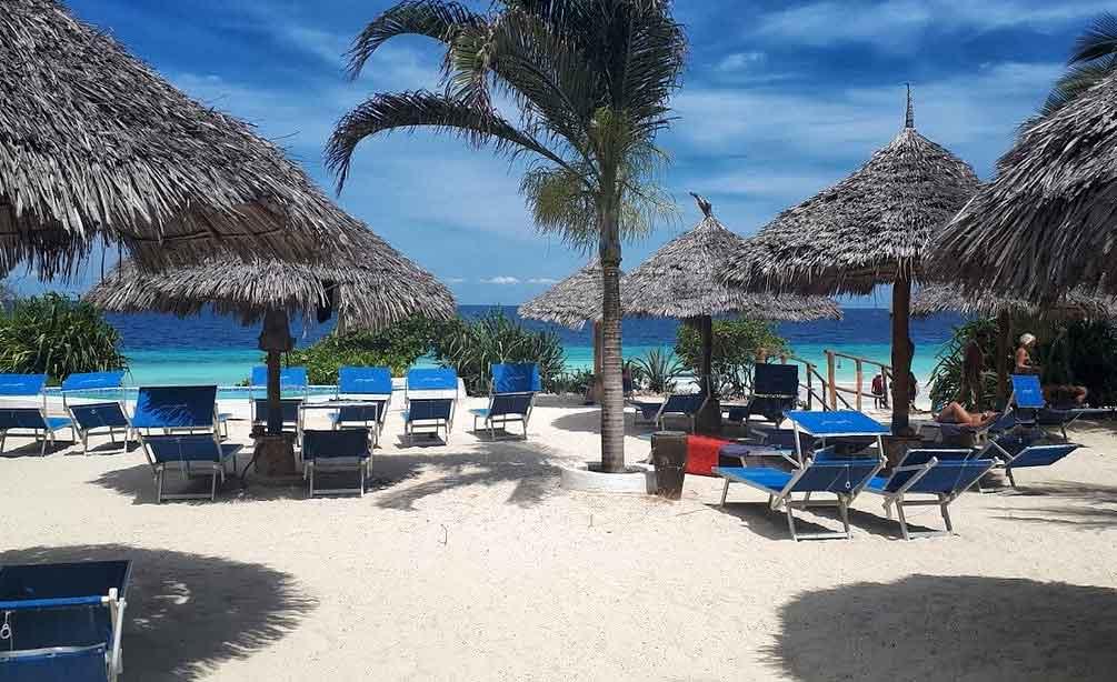 Spiaggia privata My Blue