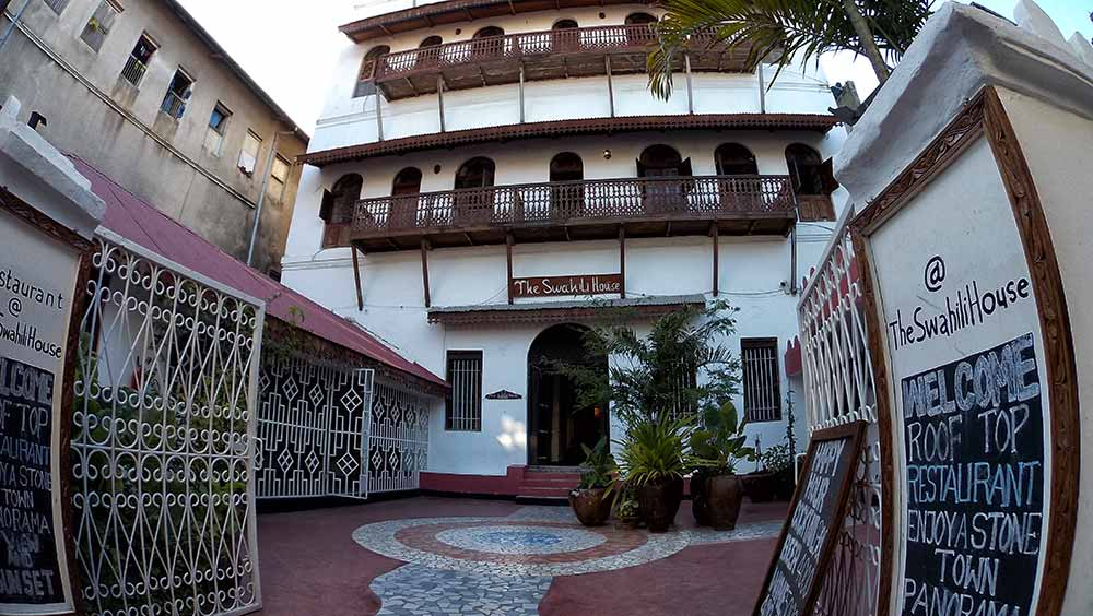 The Swahili House, Stone Town