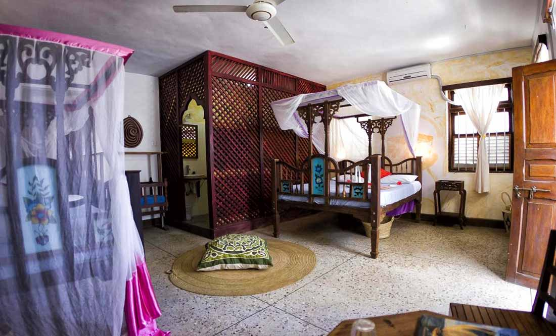 Zenji Hotel: camera matrimoniale