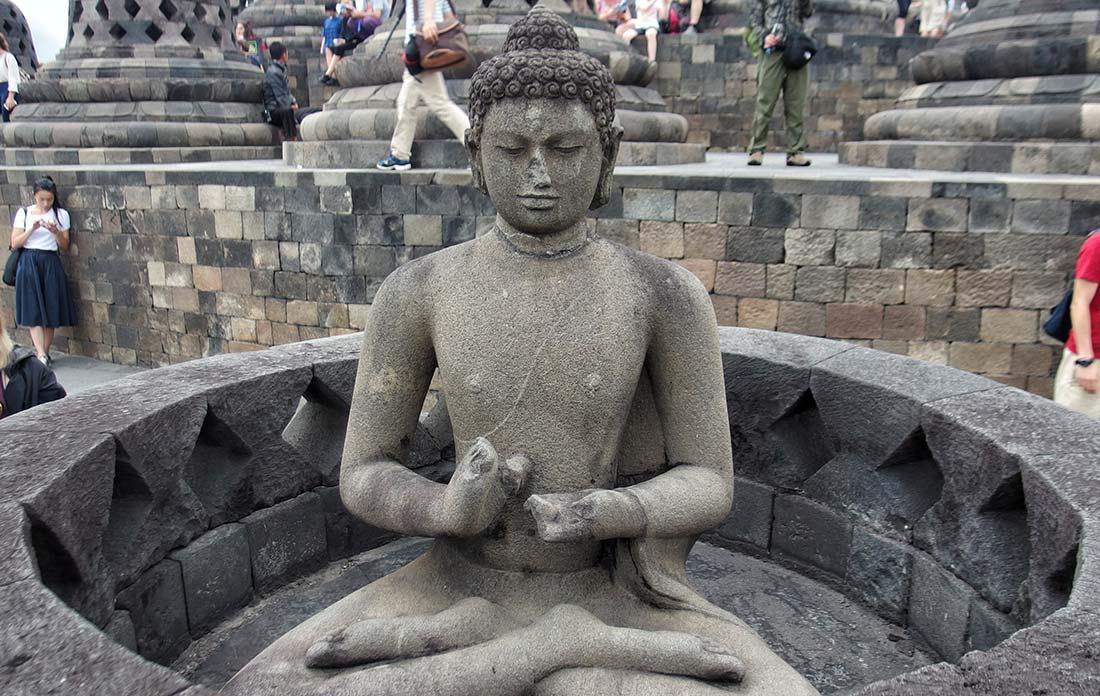 Statua Buddha Borobudur
