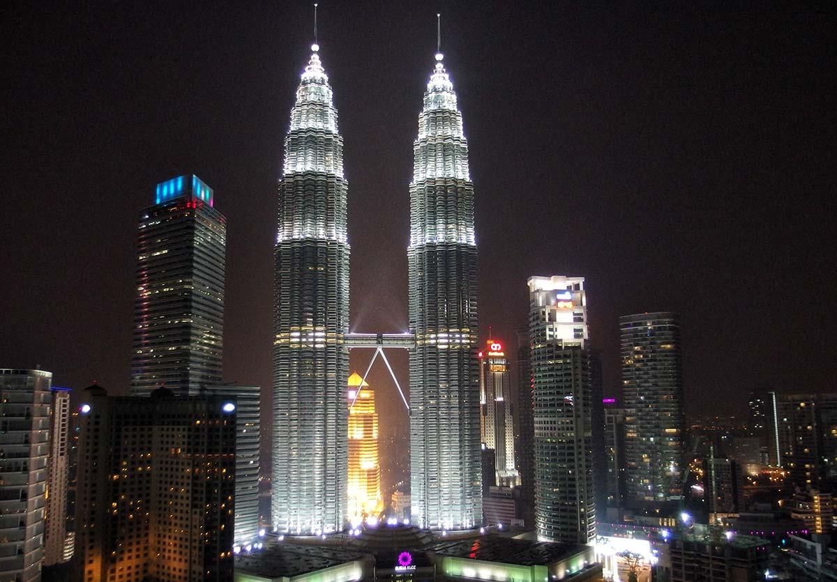 Hotel vista Petronas Towers