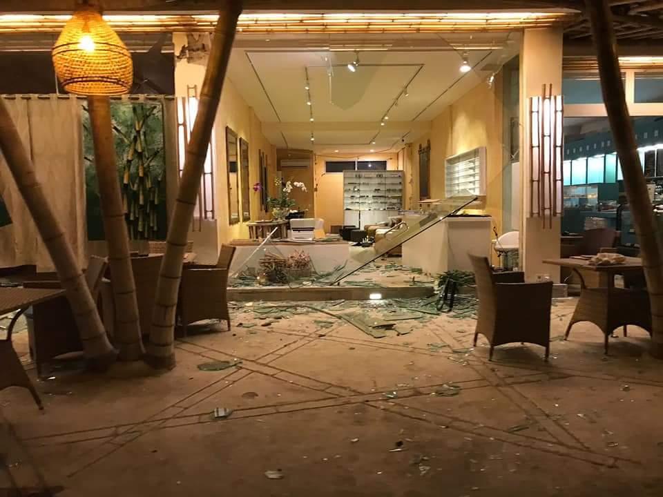 Pearl of Trawangan - danni terremoto Agosto 2018