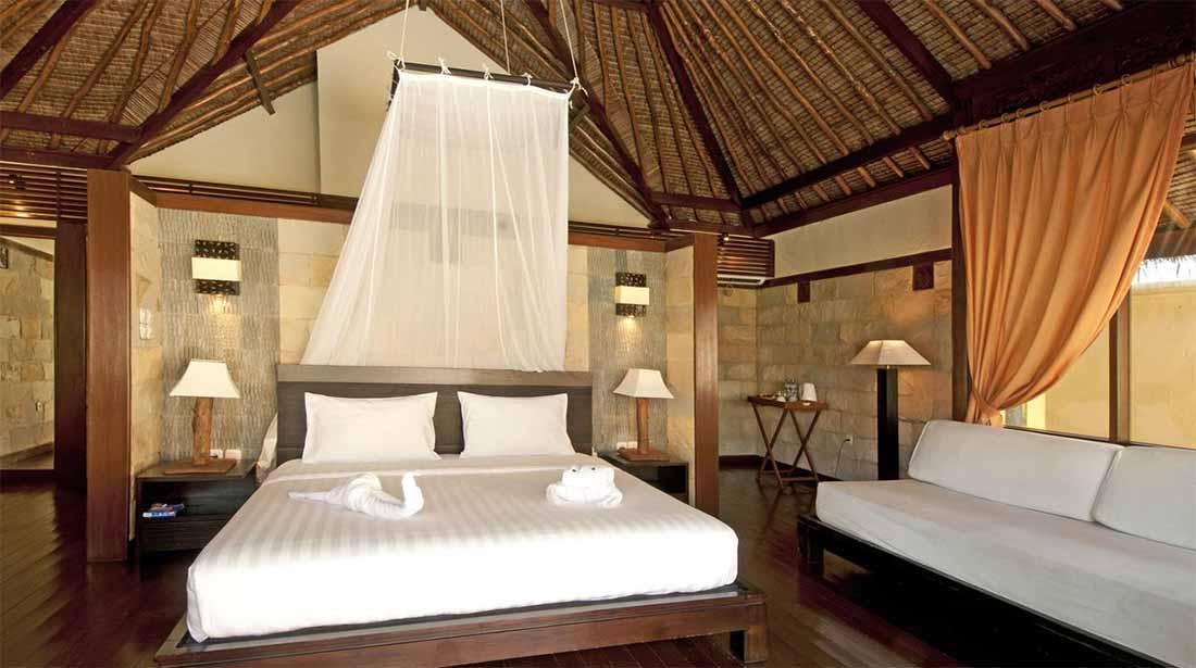 Letto matrimoniale Kura Kura Resort Karimunjawa