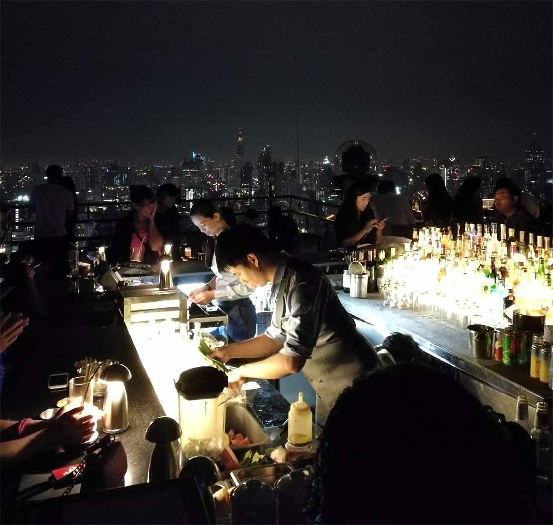 Bangkok: i baristi del Vertigo all'opera