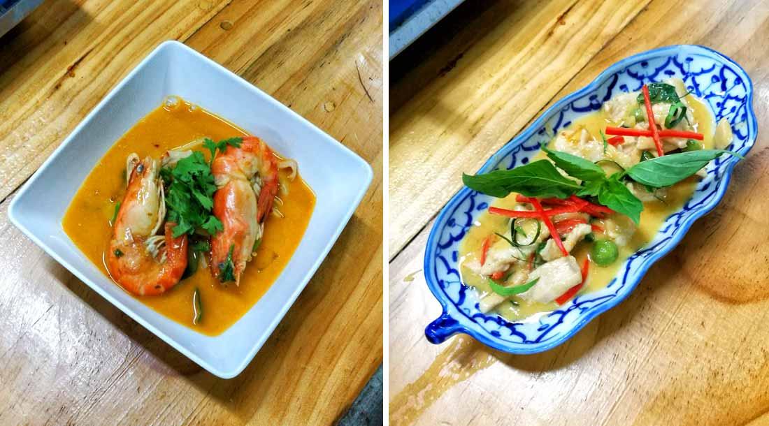 Piatti della cucina thailandese
