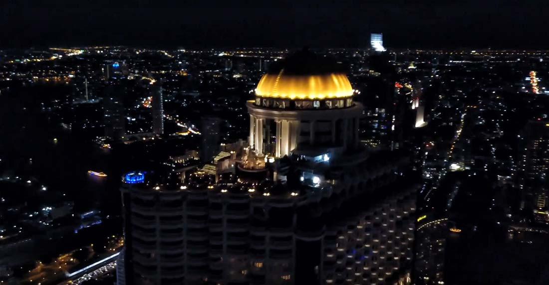 Cupola Lebua sky bar Bangkok