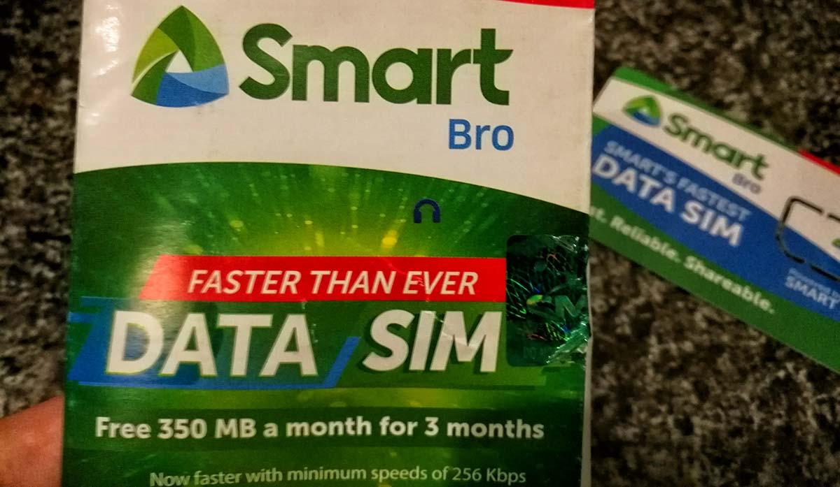 SIM telefonica filippina
