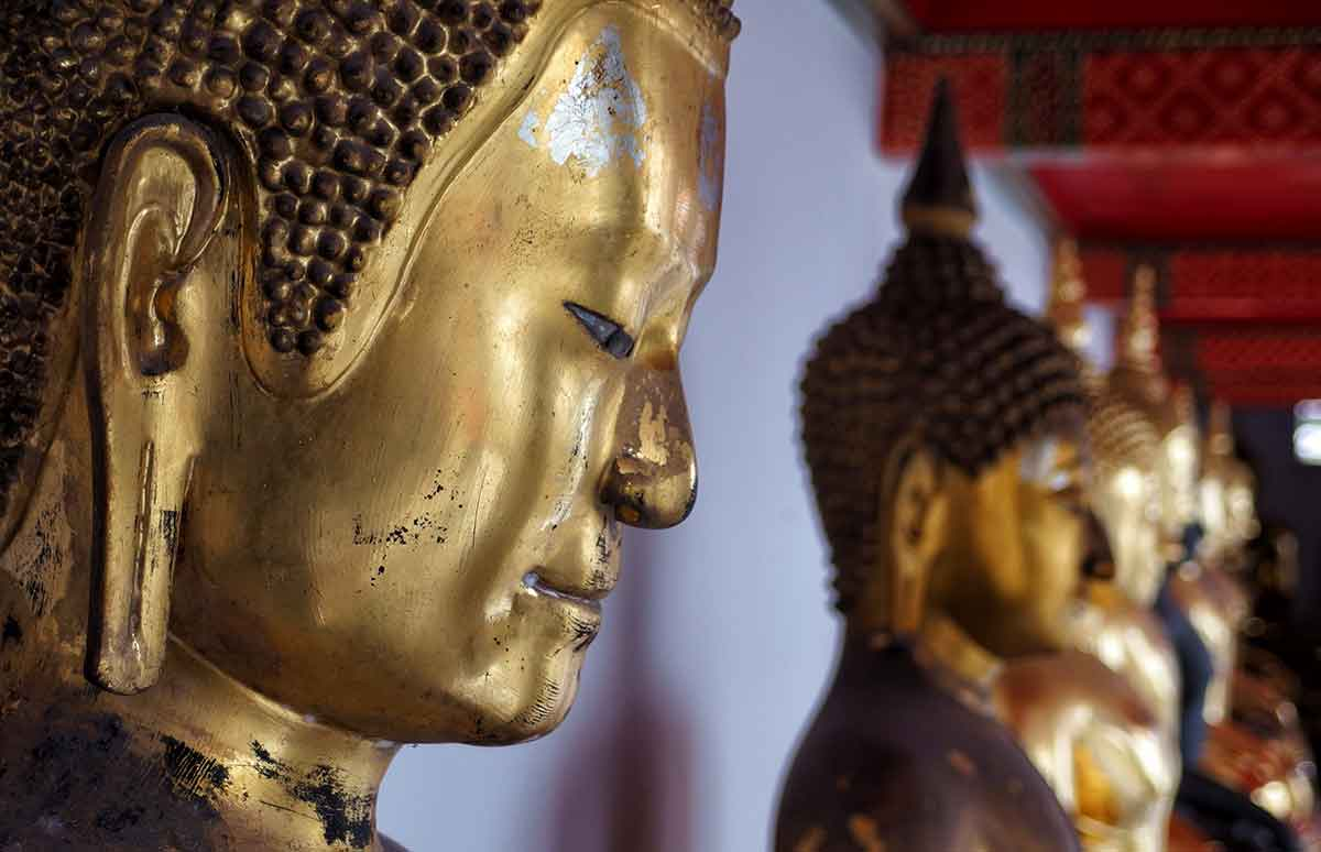 Buddha al Wat Pho, Bangkok