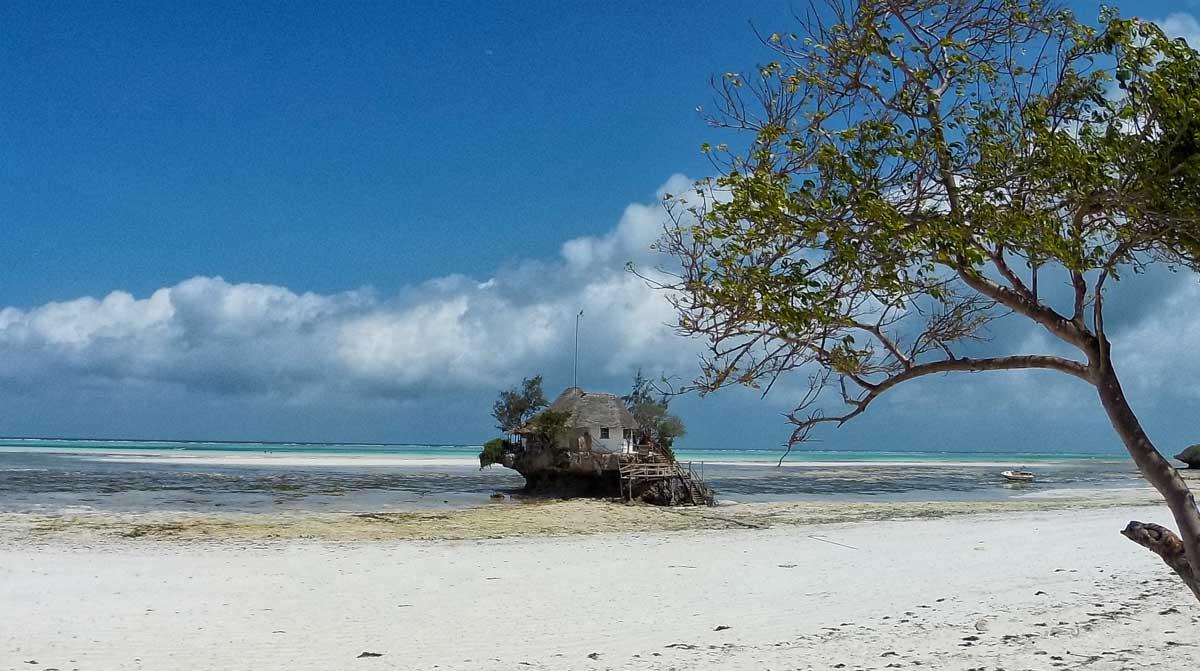 The Rock, ristorante a Zanzibar