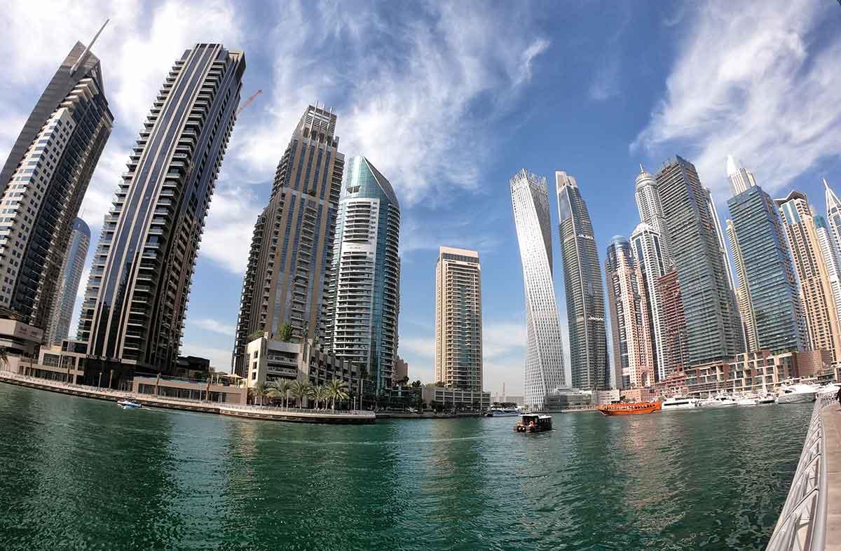 Foto Dubai Marina mare