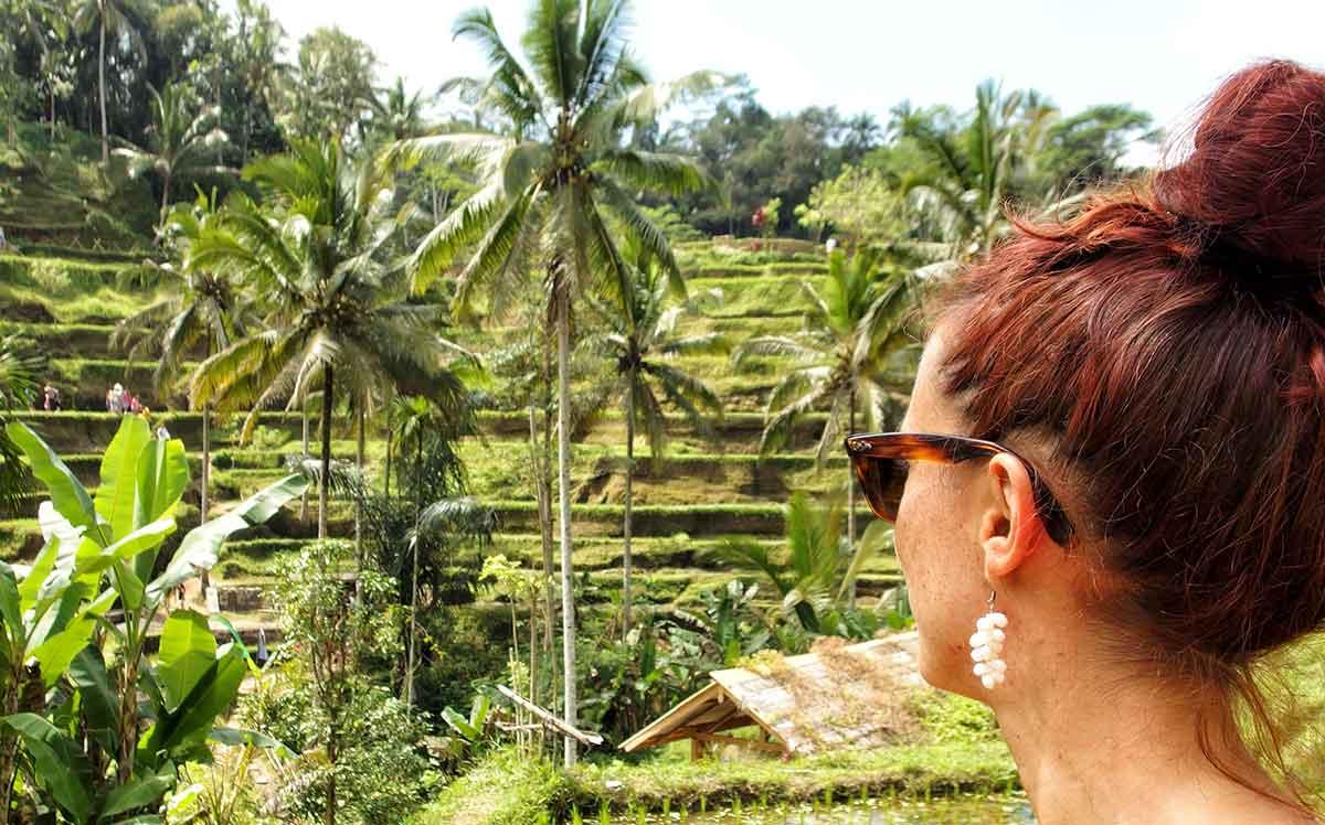 Le risaie di Ubud, Bali