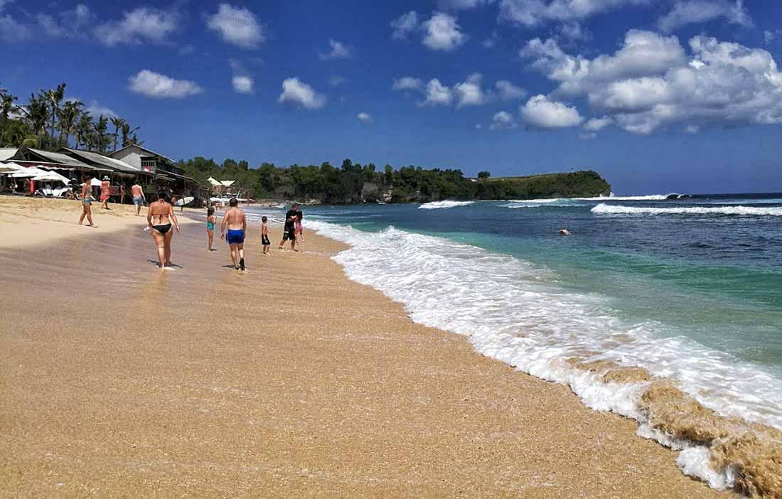 Bali, spiaggia di Balang Beach