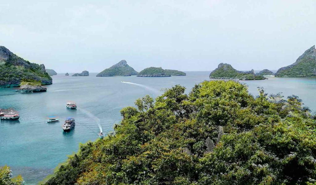 Isole del Mu Ko Ang Thong National Park