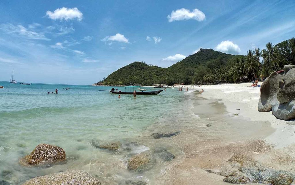 Koh Phangan mare: Bottle Beach
