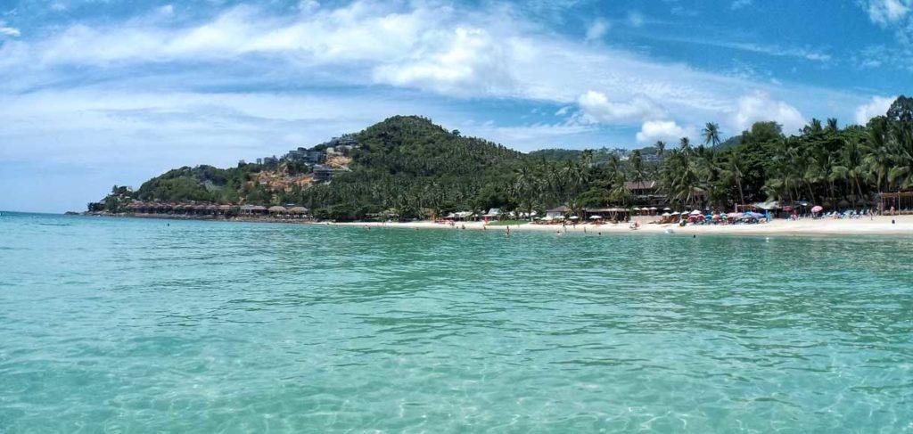 Koh Samui, spiaggia di Chaweng Noi