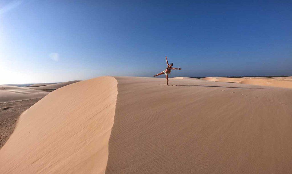 Delta das Americas, dune di sabbia