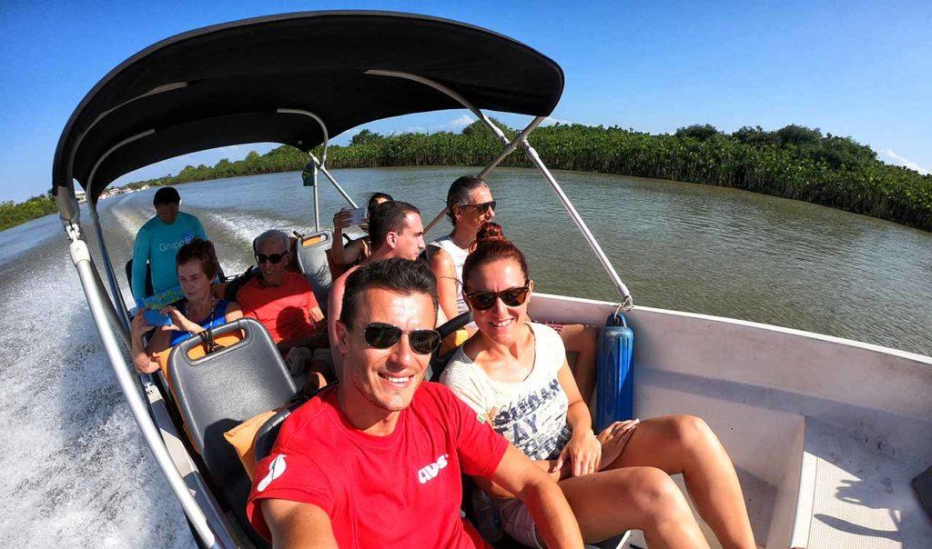 Escursione in barca sul Delta das Americas