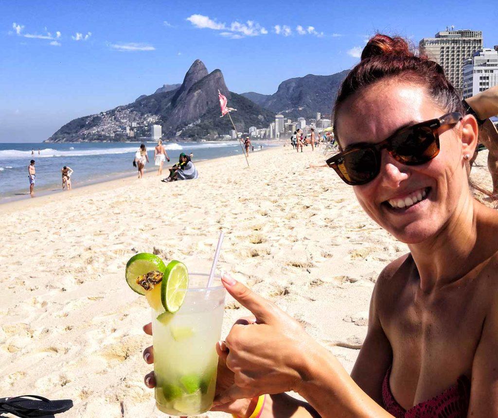 Rio de Janeiro, caipirinha a Copacabana