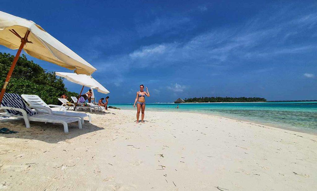 Bikini beach Maldive