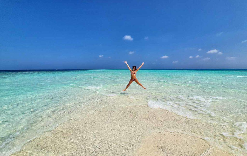 Dhiffushi Maldive, un mare da sogno