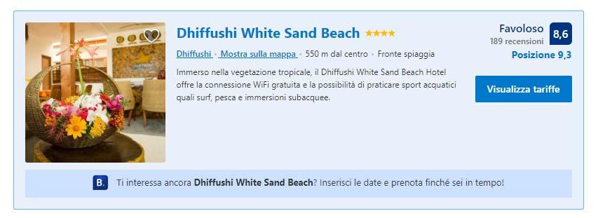 Il mio alloggio: guesthouse Dhiffushi White Sand Beach
