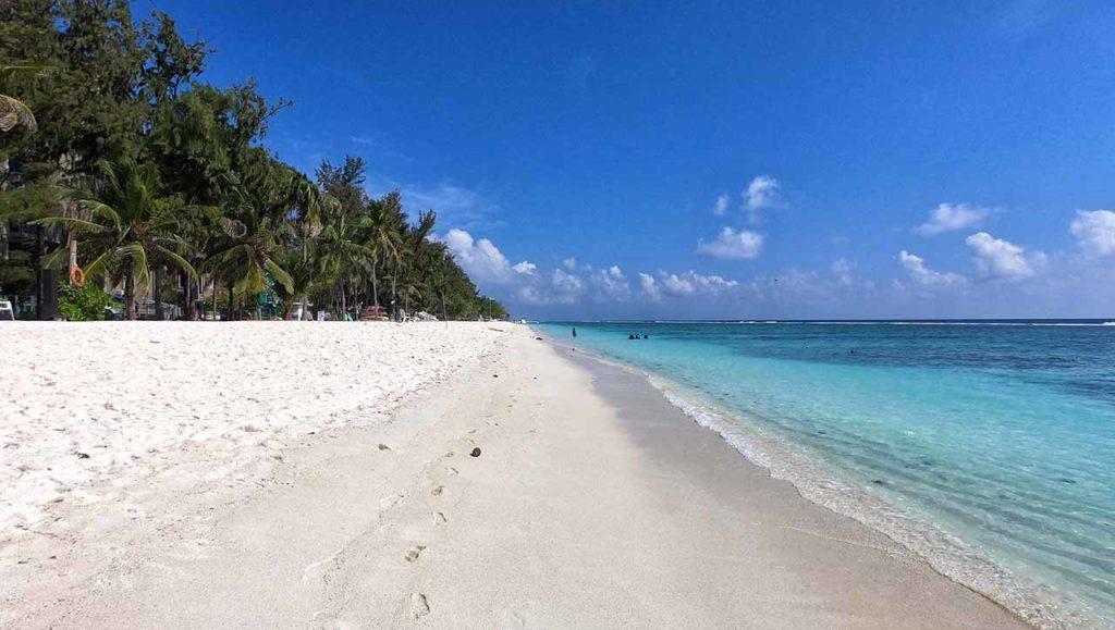 La spiaggia di Hulhumalé