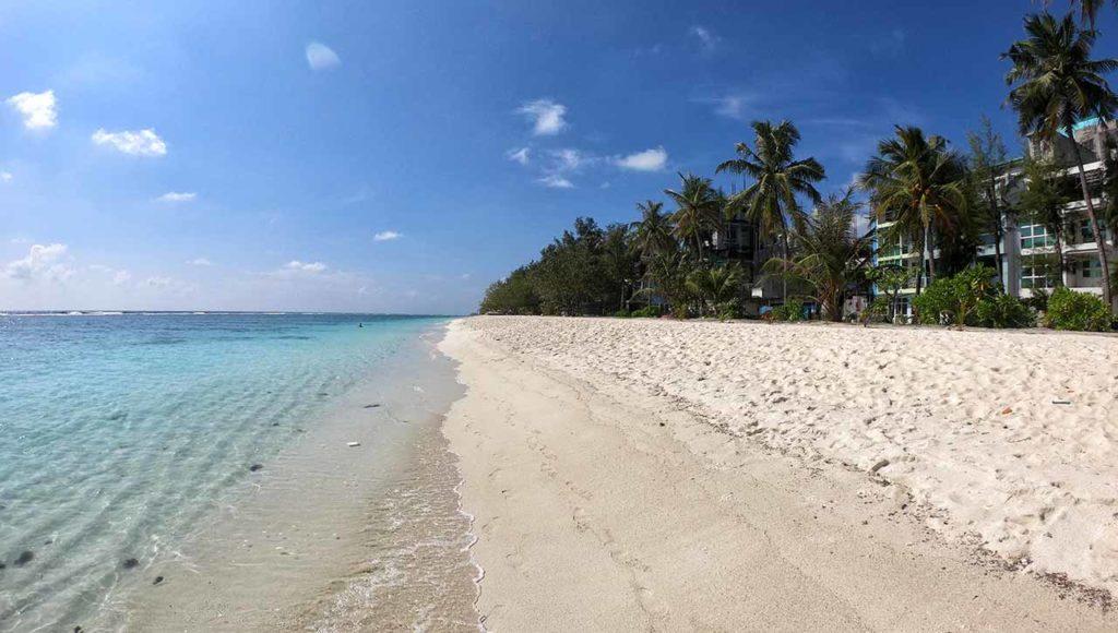 Hulhumalé: spiaggia
