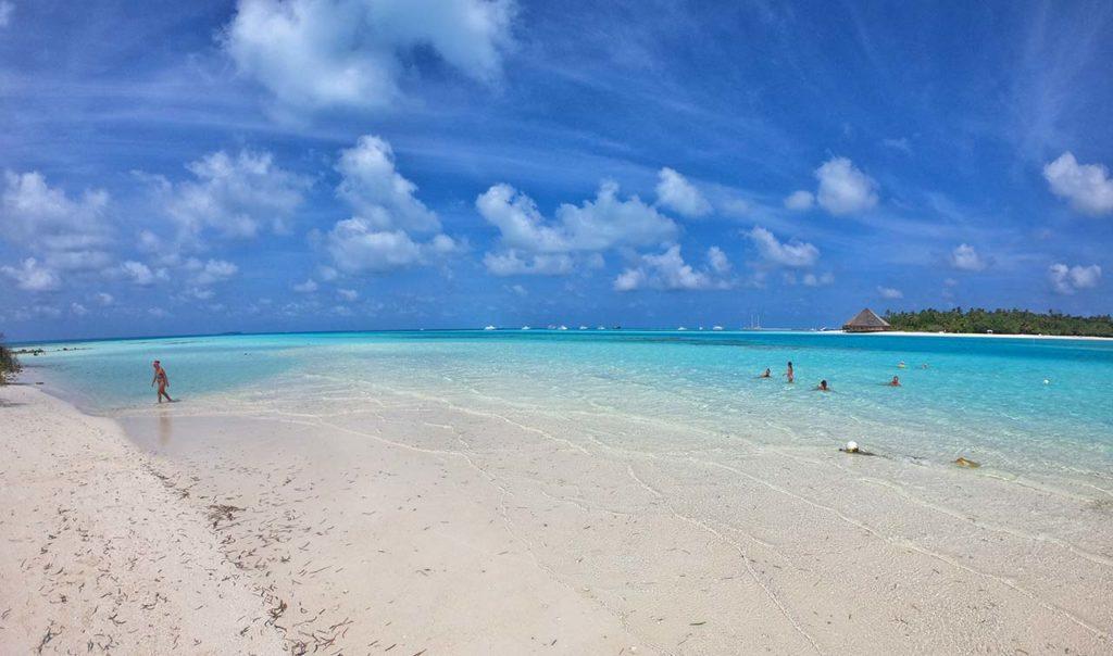 Il mare delle Maldive