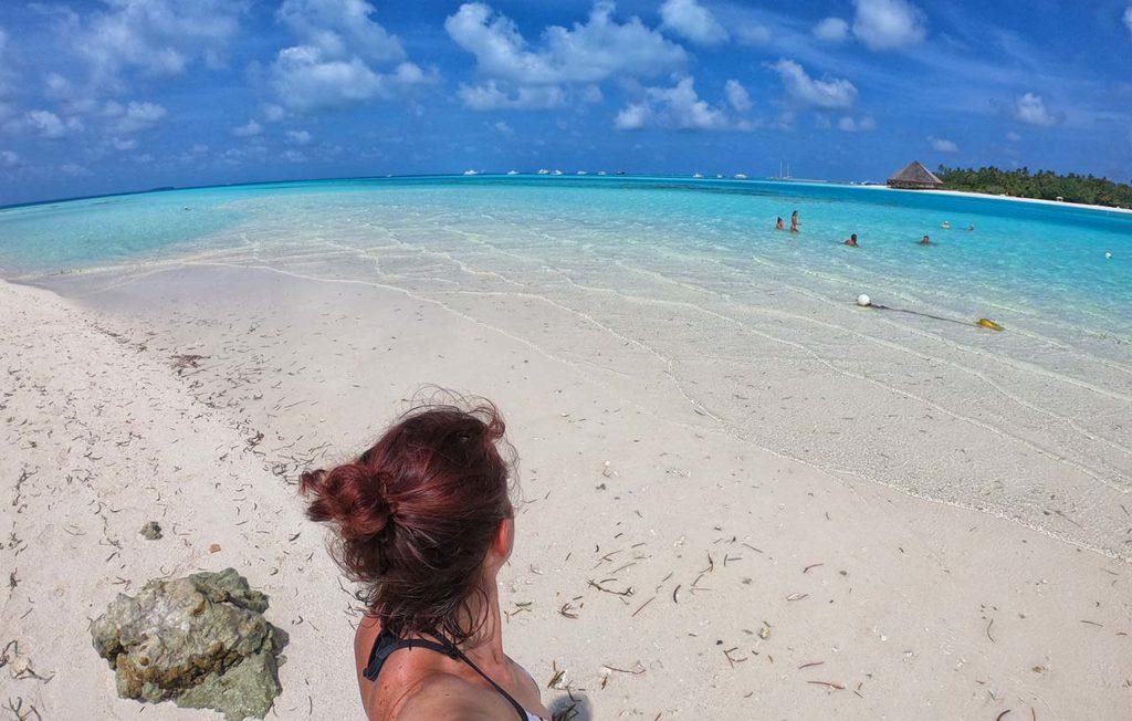 Maldive: il mare di Dhiffushi