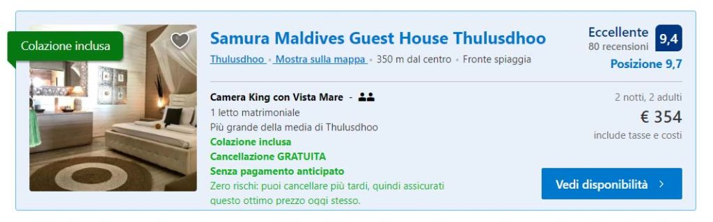 Samura Maldives Guesthouse a Thulusdhoo