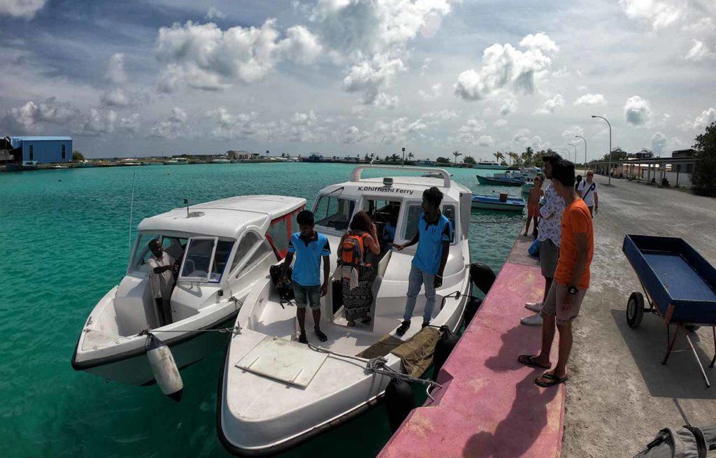 Speed boat Malé Dhiffushi