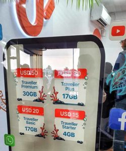 Tariffe Internet SIM Maldive