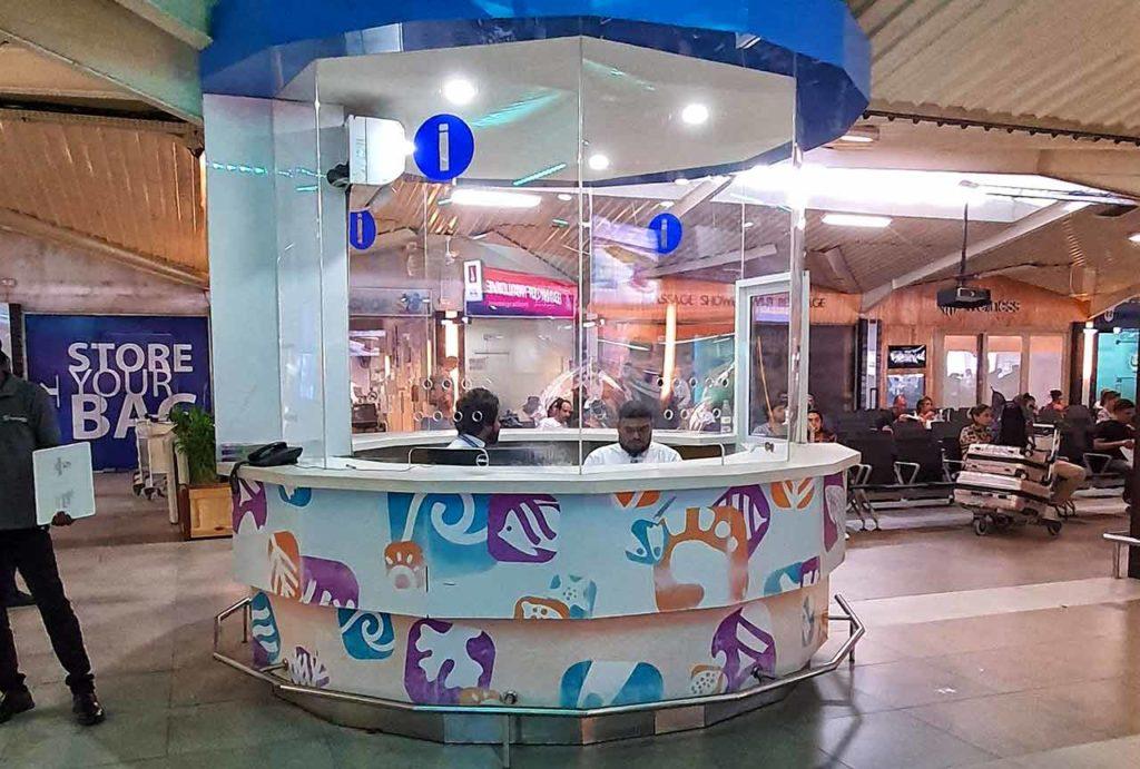 Ufficio informazioni aeroporto Malé