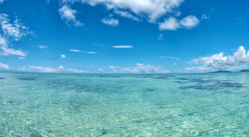 Il mare del Giappone, siamo ad Ishigaki, prefettura di Okinawa