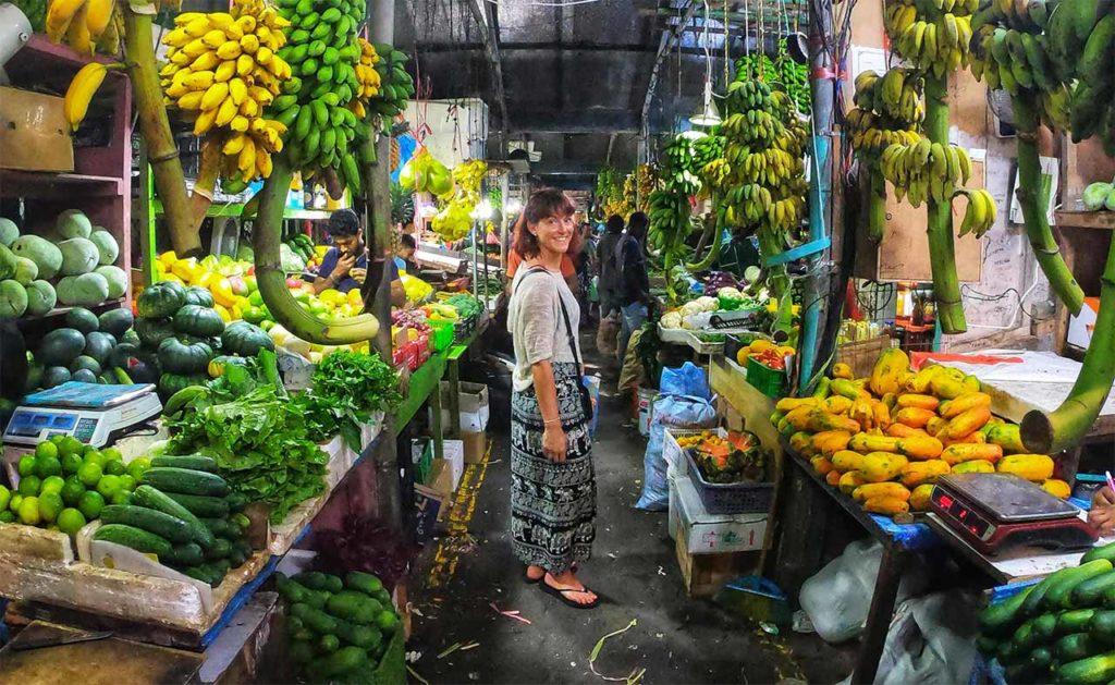 Il mercato di Malé