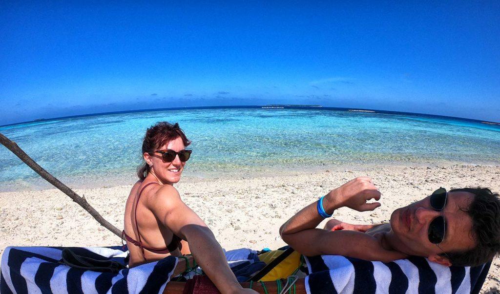L'unica bikini beach di Mahibadhoo