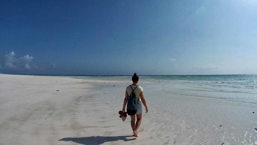 Zanzibar a Dicembre: passeggiata in spiaggia