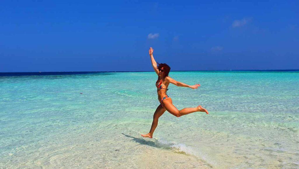 Capodanno al mare delle Maldive