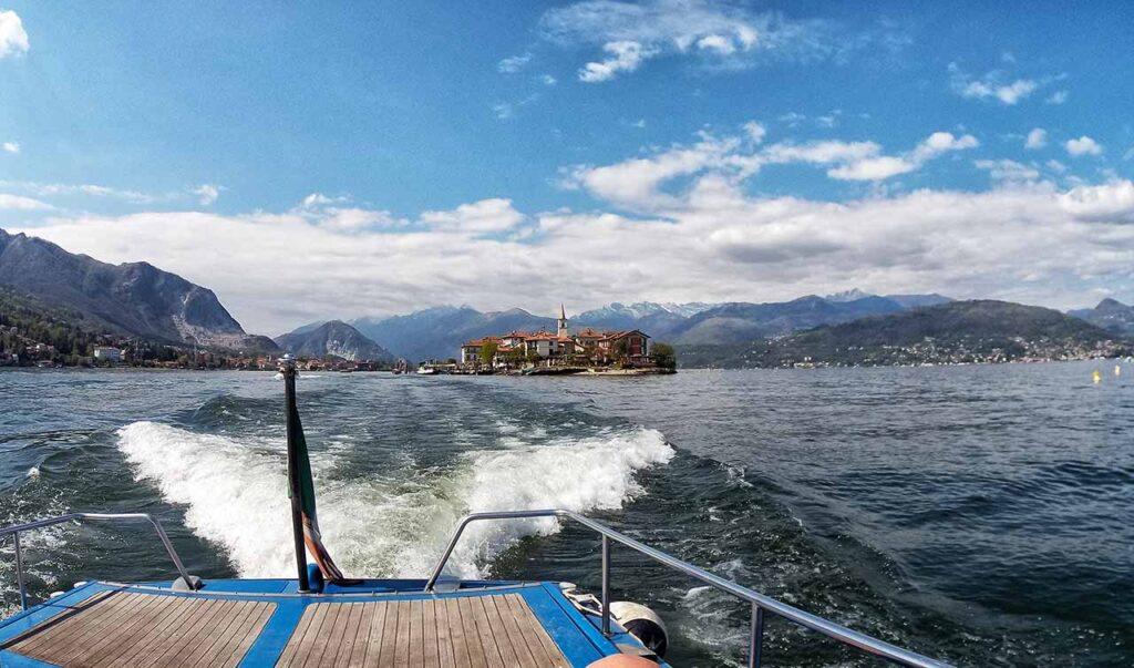 Traghetto di ritorno dalle Isole Borromee